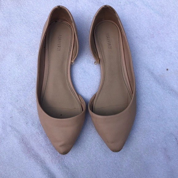 Forever 21 Shoes - Forever 21 light pink flats